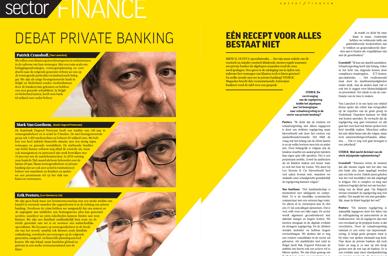 Debat Private Banking